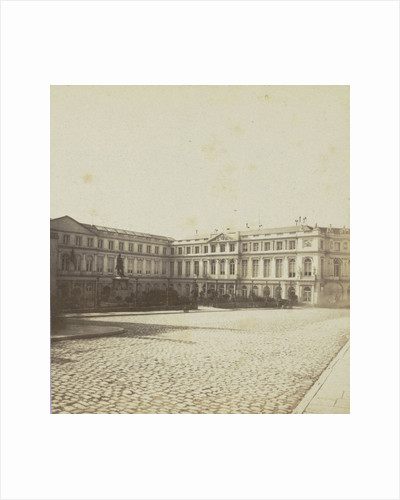 Brussels, The Museum and the Palace of Industry by Jules Queval