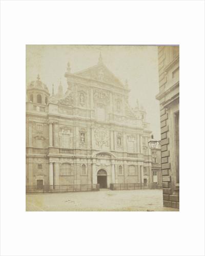 Anvers, La Facade de L'Eglise Saint-Charles by Jules Queval