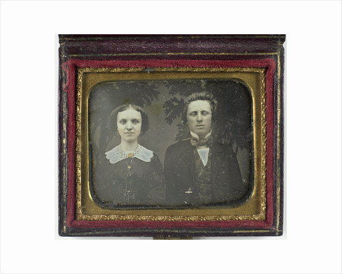 Portrait of a young man and young woman by Anonymous