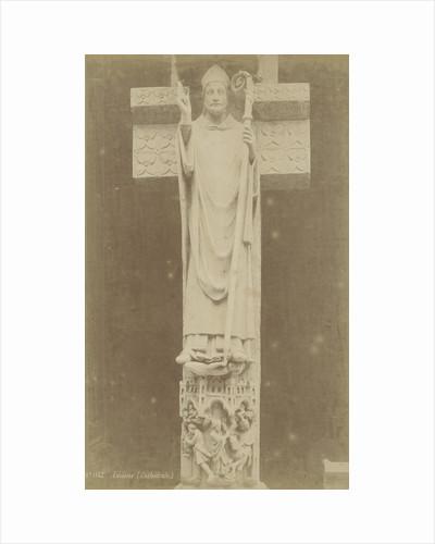Sculpture sacred Firminus in Amiens France by Paul Robert