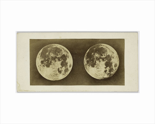 Stereoscopic image of the Full Moon by Andries Jager