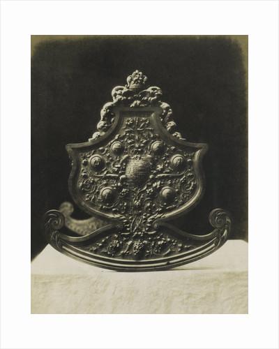 Cradle Carved in Boxwood by C.M. Ferrier & F. von Martens