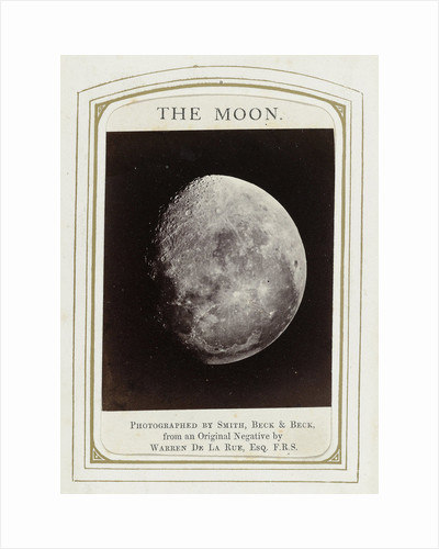The moon, Warren de la Rue by Beck & Beck Smith