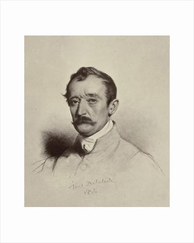 Portrait de M. Horace Vernet by Paul Delaroche