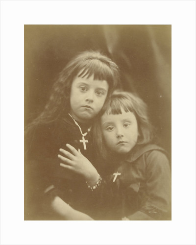 Portrait of Laura and Rachel Gurney by Julia Margaret Cameron