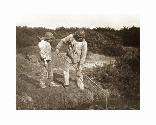 Fishermen in Suffolk by Peter Henry Emerson