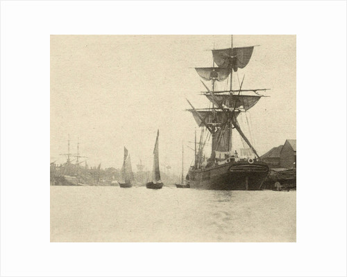 Return of the shrimp fishers by Peter Henry Emerson