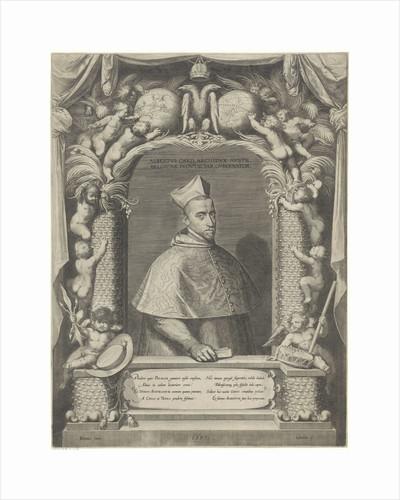 Portrait of Albert, Archduke of Austria, in cardinal robes by Georg van de Velden