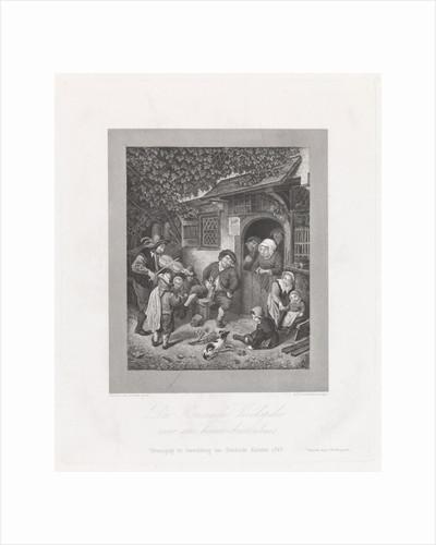 Violin Player for an inn by J.F. Brugman