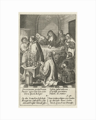 The host is administered to the patient by Henry Aertssens