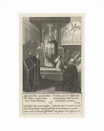 The funeral service, 16 by Hendrik Aertssens