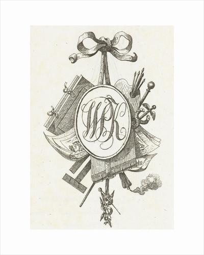 Title Vignette monogrammed W.P.K by Jean Bernard