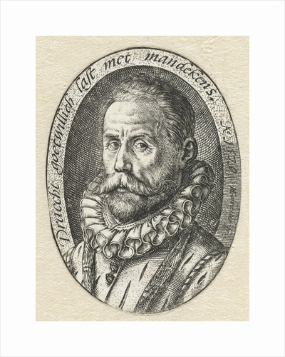 Portrait of a bearded man by Hendrick Goltzius