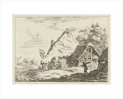 Cart for a farm by Carel Lodewijk Hansen