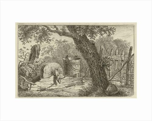 Landscape With Grindstone By Hermanus Fock
