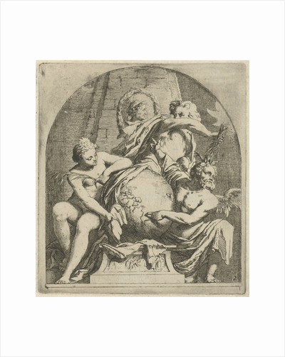 Allegory of variability by Arnold Houbraken