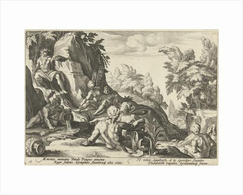 The river gods gather at Peneus by Franco Estius
