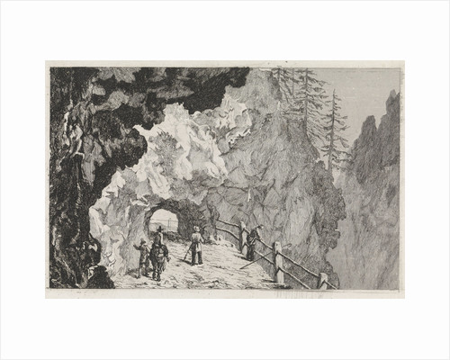 Passage in the rocks by Marinus van Raden