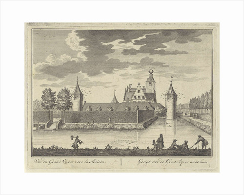 Large pond at Castle Zuilenstein by Daniël Stopendaal