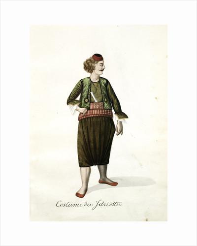 Costume des Jariottes by Mahmud II