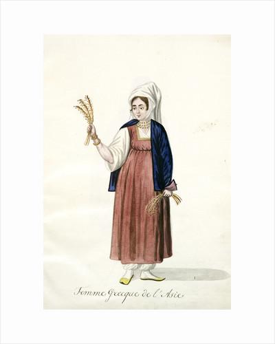 Femme Greque de l'Asie by Mahmud II