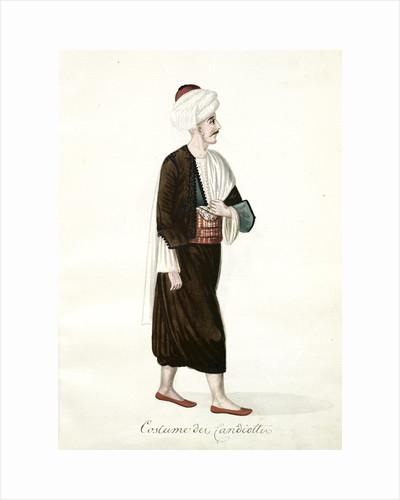 Costume de Candiottes by Mahmud II