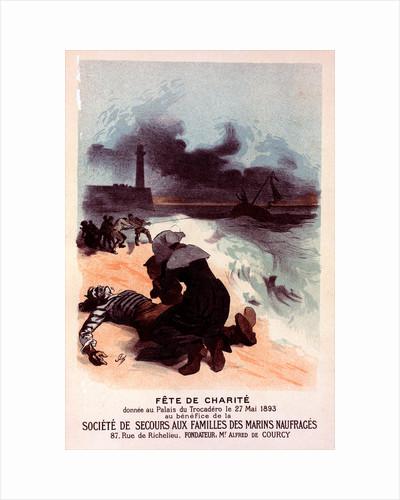 Poster for Fête de Charité by Jules Chéret