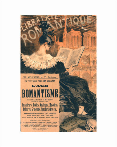 Gilded age posters gilded age prints poster for librairie romantique by eugne grasset m4hsunfo