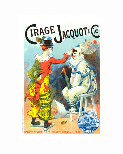 Poster for Cirage Jacquot et Cie by Lucien Lefevre