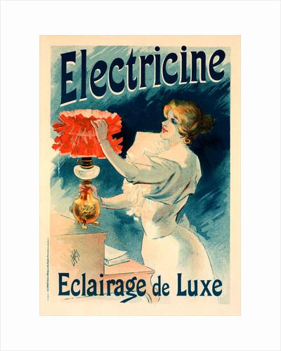 Poster for l' Électricine by Lucien Lefevre