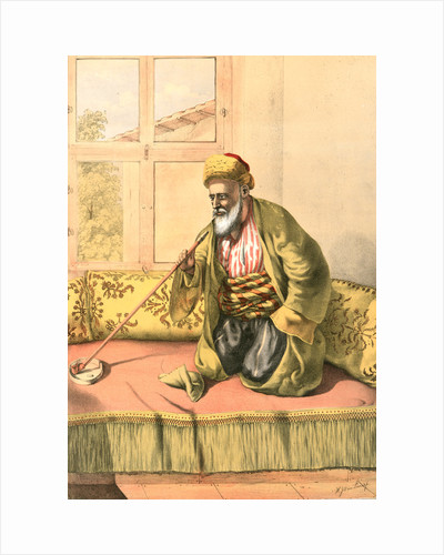 A Turkish effendi, man of high education and social standing in Turkey by Henry J. Van Lennep