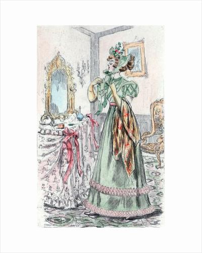 1829, Women's fashion in nineteenth-century Paris by Henri Boutet