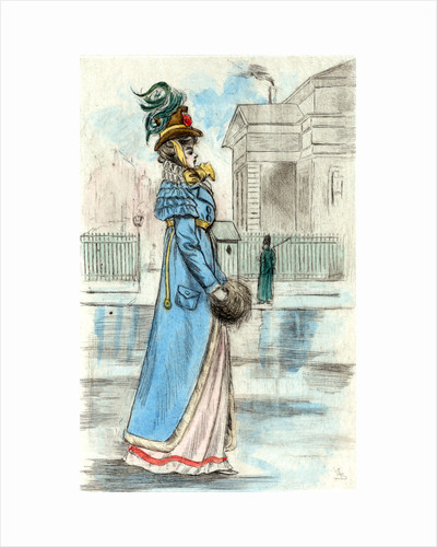 1814, Women's fashion in nineteenth-century Paris by Henri Boutet