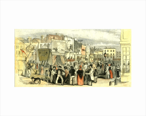 Portsmouth Fair UK 1847 Free Mart Fair Fifteen Days Followed by Portsdown Fair the Open Hand of Portsmouth 9th of July by Anonymous