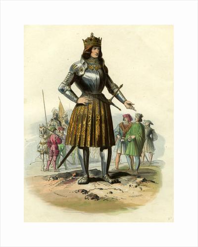 Maximilien D' Autriche 19th Century Illustration 1459 - 1519 by Anonymous