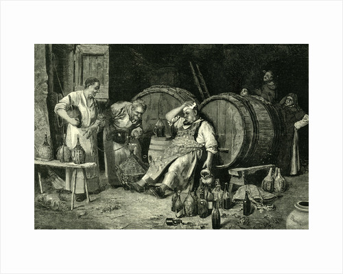 Italy Wine Tasting 1881 by Anonymous