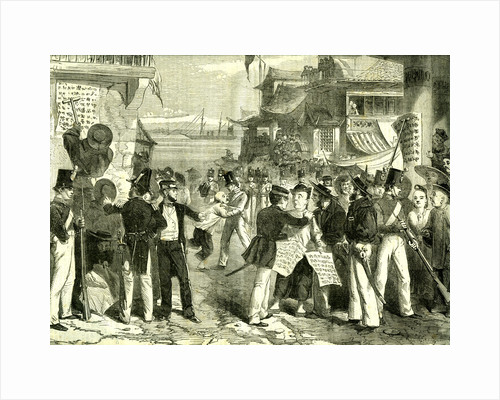 Shanghai China 1865 Proclamation of French and English Chefs by Anonymous