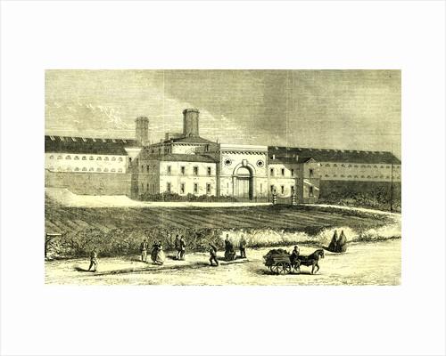 Dublin Ireland 1866 Mountjoy Prison by Anonymous