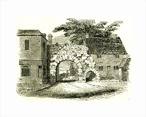 Newgate Lincoln UK 19th Century by Anonymous