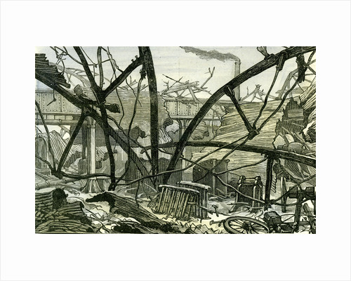 Woolwich Arsenal London 1887 Damage to the Mounting Shed Carriage Factory by Anonymous
