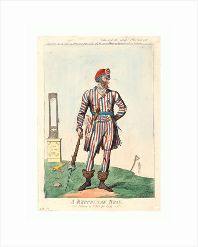 A republican beau by Isaac Cruikshank