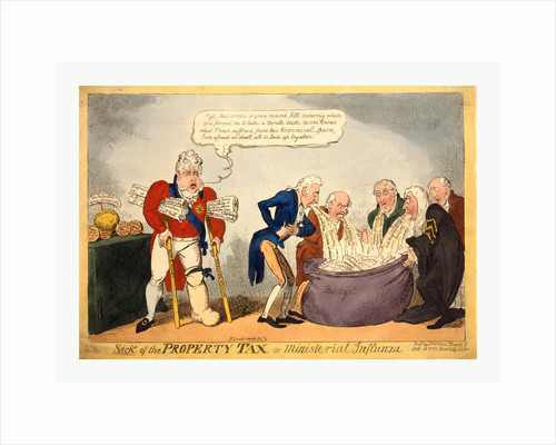 Sick of the property tax or ministerial influnza by George Cruikshank