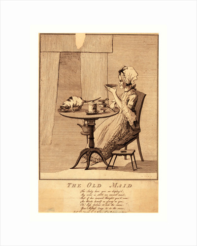 The old maid by Anonymous