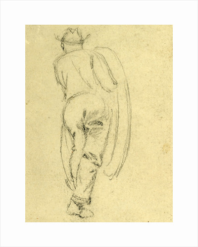 Full length rear view of man by Anonymous
