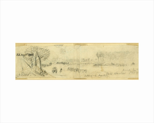 Taking up position, Cold Harbor, June 2 by Anonymous