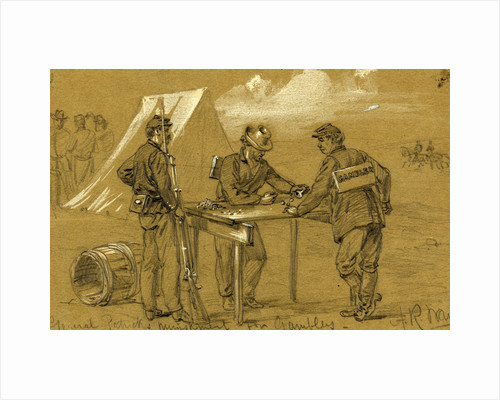 General Patricks punishment for gamblers, 1863 October by Alfred R Waud