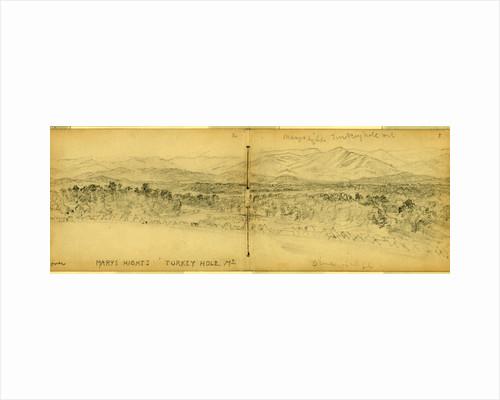 Mary hights sic, Turkey hole mt. Blue Ridge by Alfred R Waud