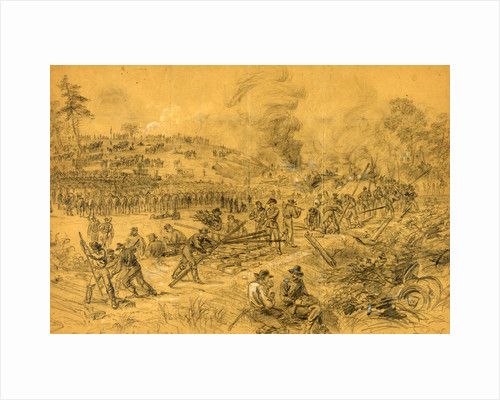 Destruction of Genl. Lees lines of Communication in Virginia by Genl. Wilson by Alfred R Waud