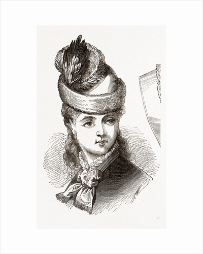 19th Century Fashion, Bonnet by Anonymous