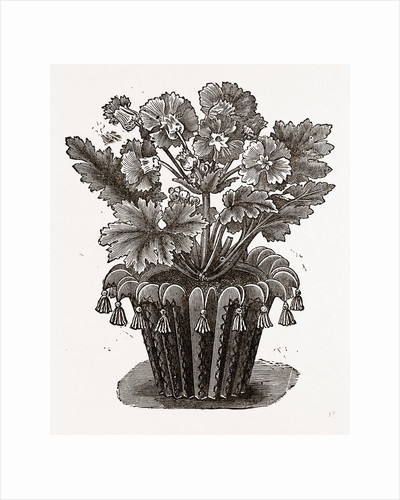 Cover For Flower Pot by Anonymous